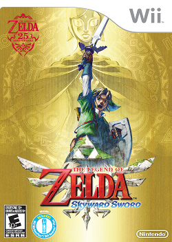 Japanese Skyward Sword trailers reveal two different enviroments