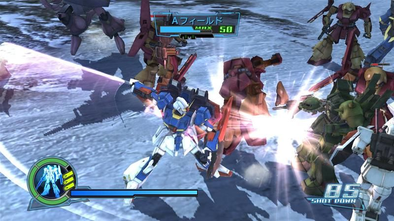 Dynasty Warriors Gundam 2 Gameplay
