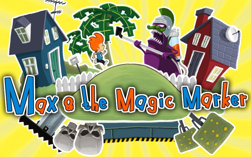Max and the Magic Marker – DS Teaser
