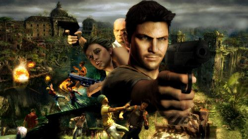 Uncharted 2 E3 Rooftop Gameplay
