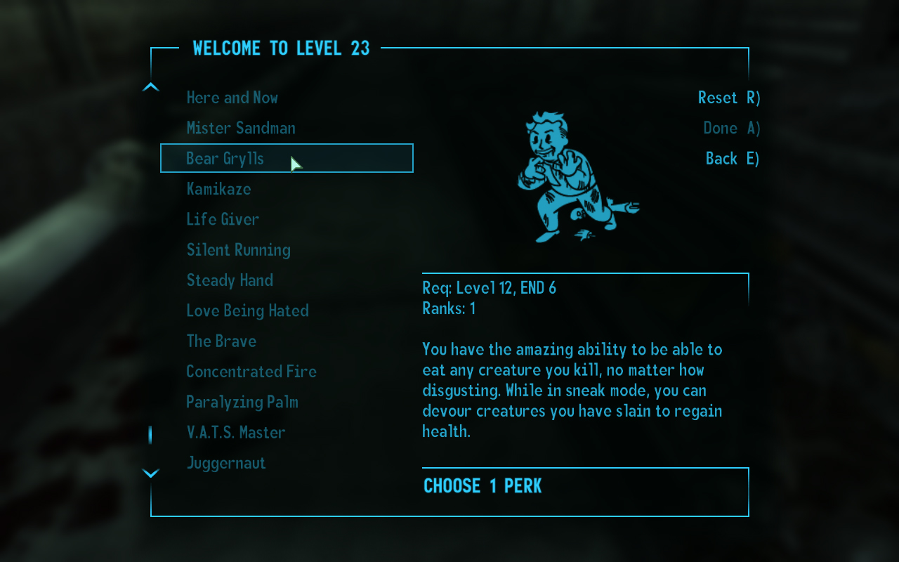 Wouldyoukindly com » Fallout 3 Ultimate Perks Pack