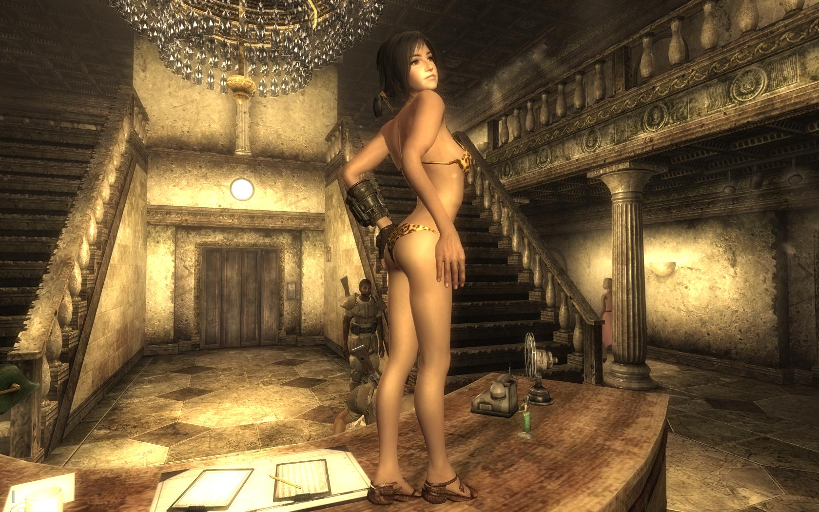 Think, Fallout new vegas naked girl having sex with you